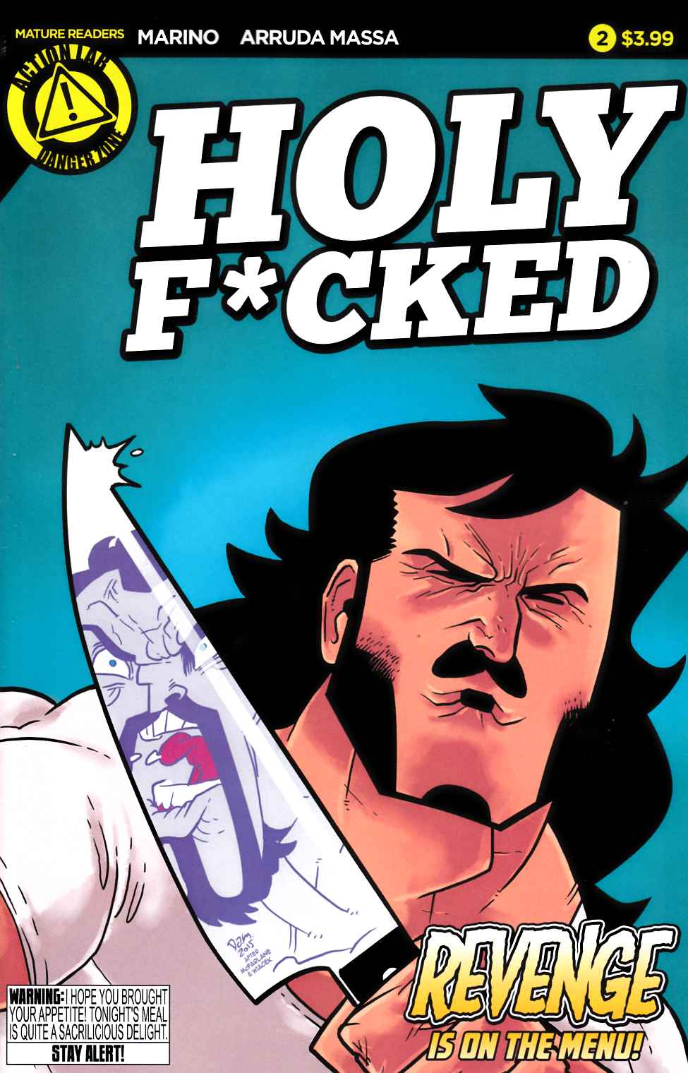 Holy F*Cked #2 [Danger Zone Comic] THUMBNAIL