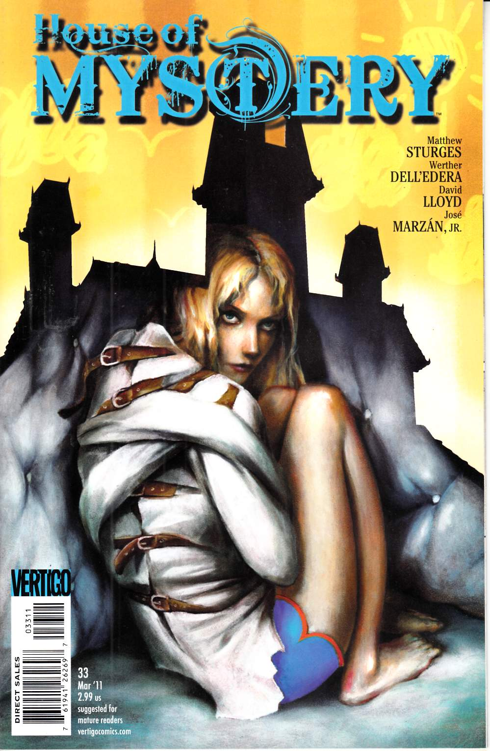 House of Mystery #33 Near Mint (9.4) [DC Comic] THUMBNAIL