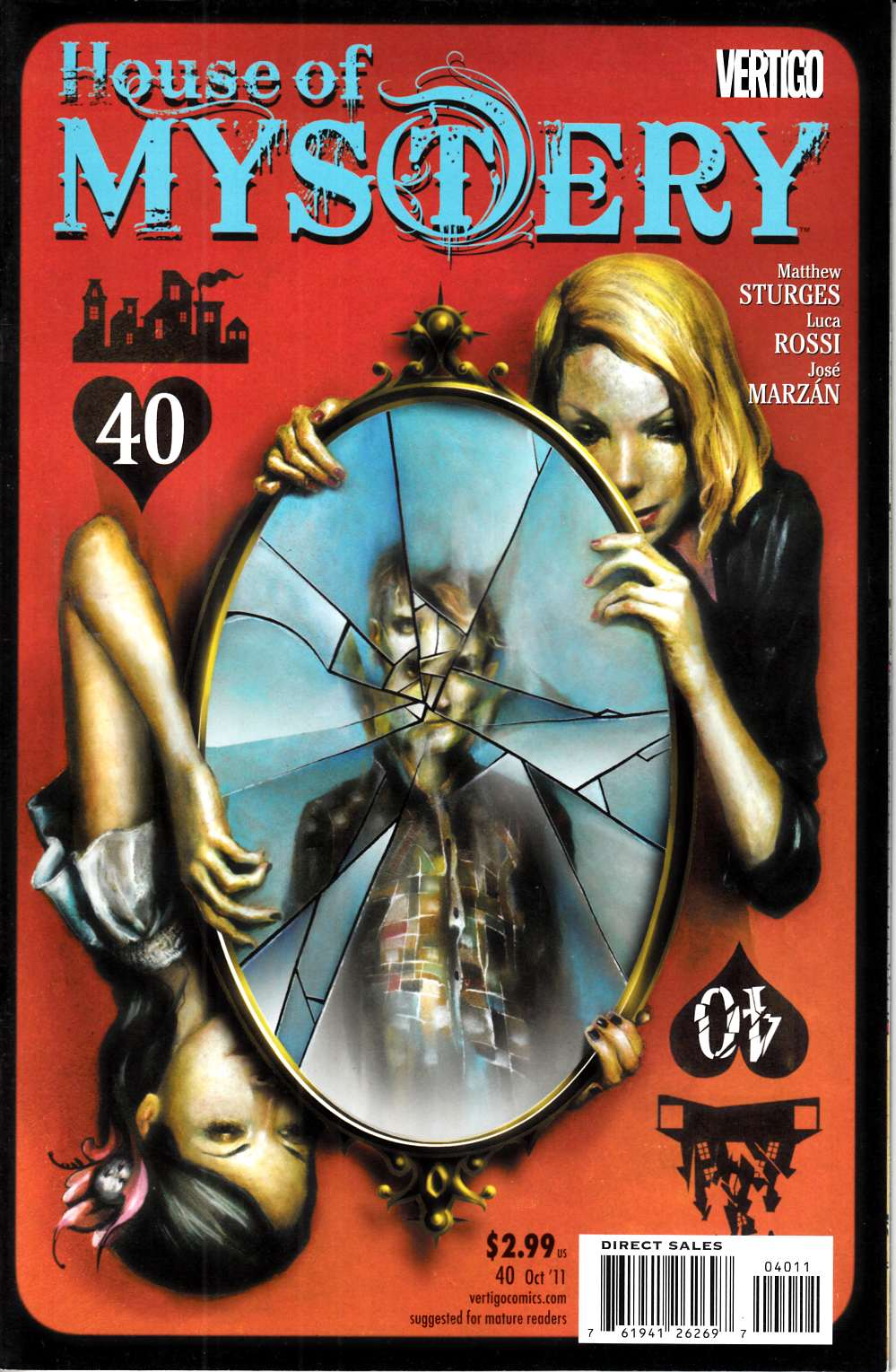 House of Mystery #40 Near Mint (9.4) [DC Comic] THUMBNAIL