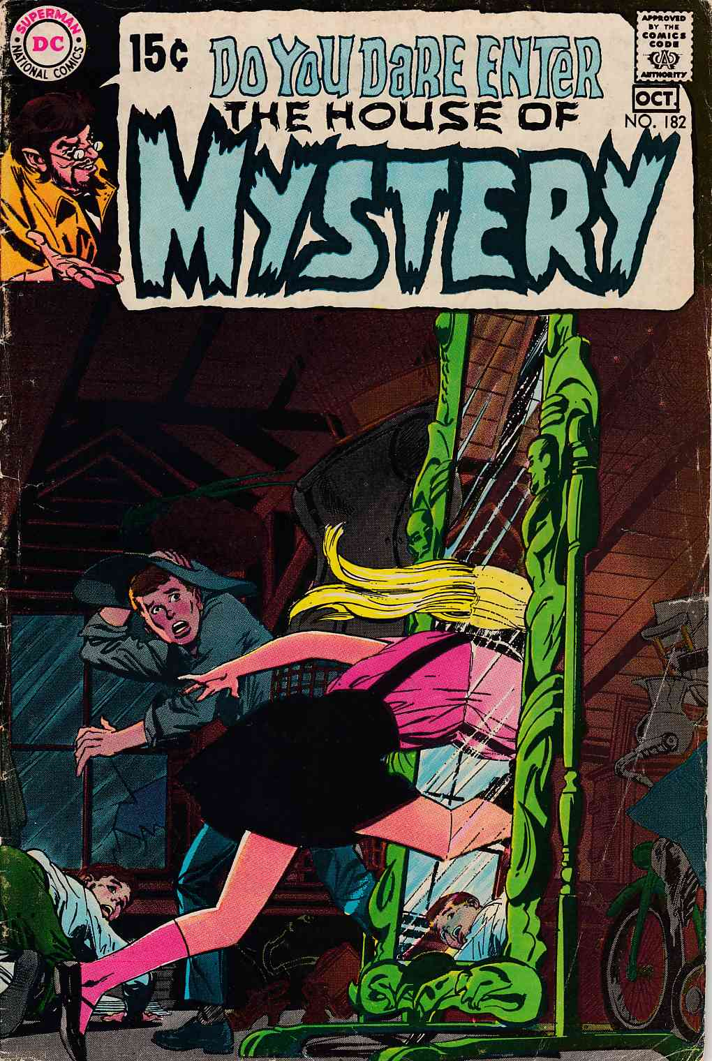 House of Mystery #182 Very Good (4.0) [DC Comic] THUMBNAIL
