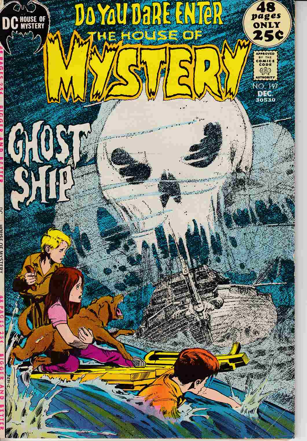 House of Mystery #197 FIne (6.0) [DC Comic] THUMBNAIL