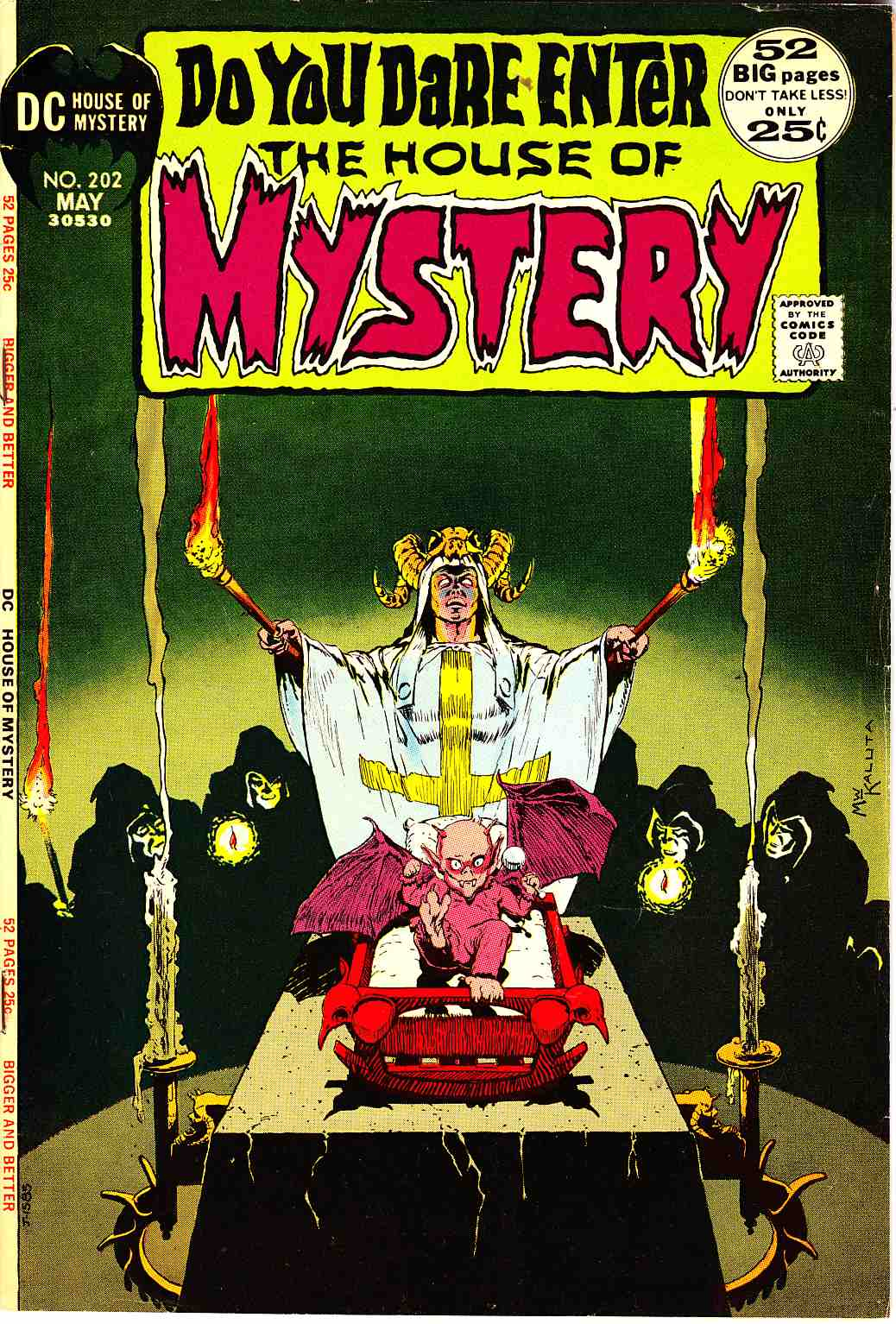 House of Mystery #202 [DC Comic] LARGE