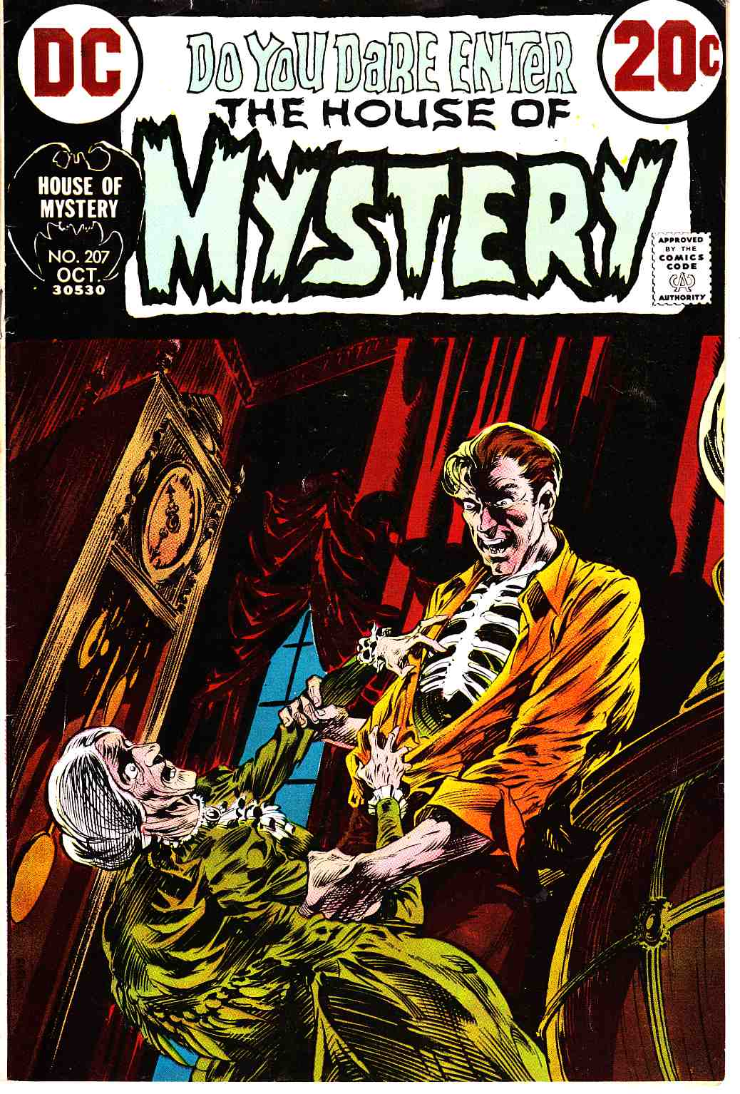 House of Mystery #207 [DC Comic] THUMBNAIL