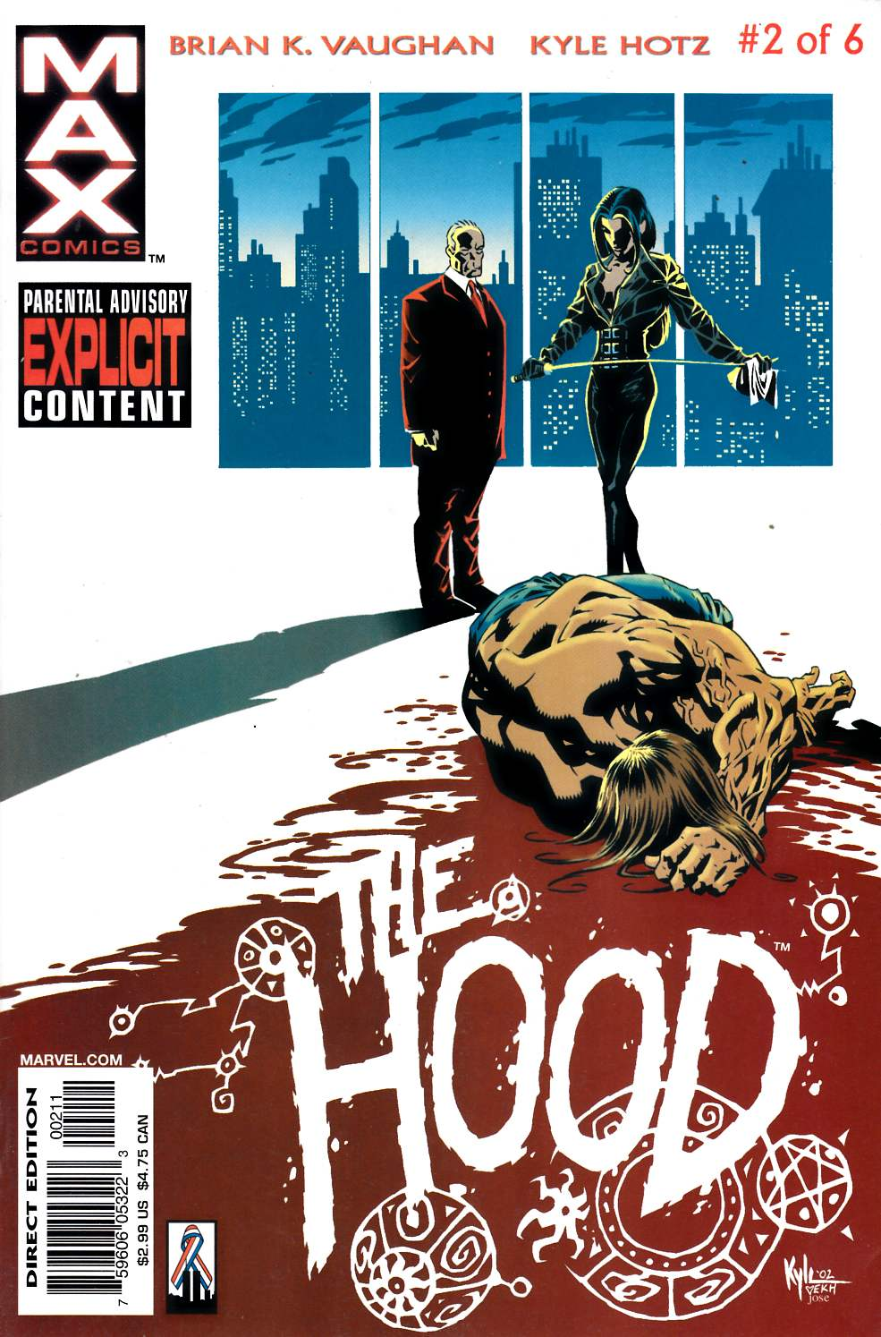 The Hood #2 Near Mint (9.4) [Marvel Comic] THUMBNAIL