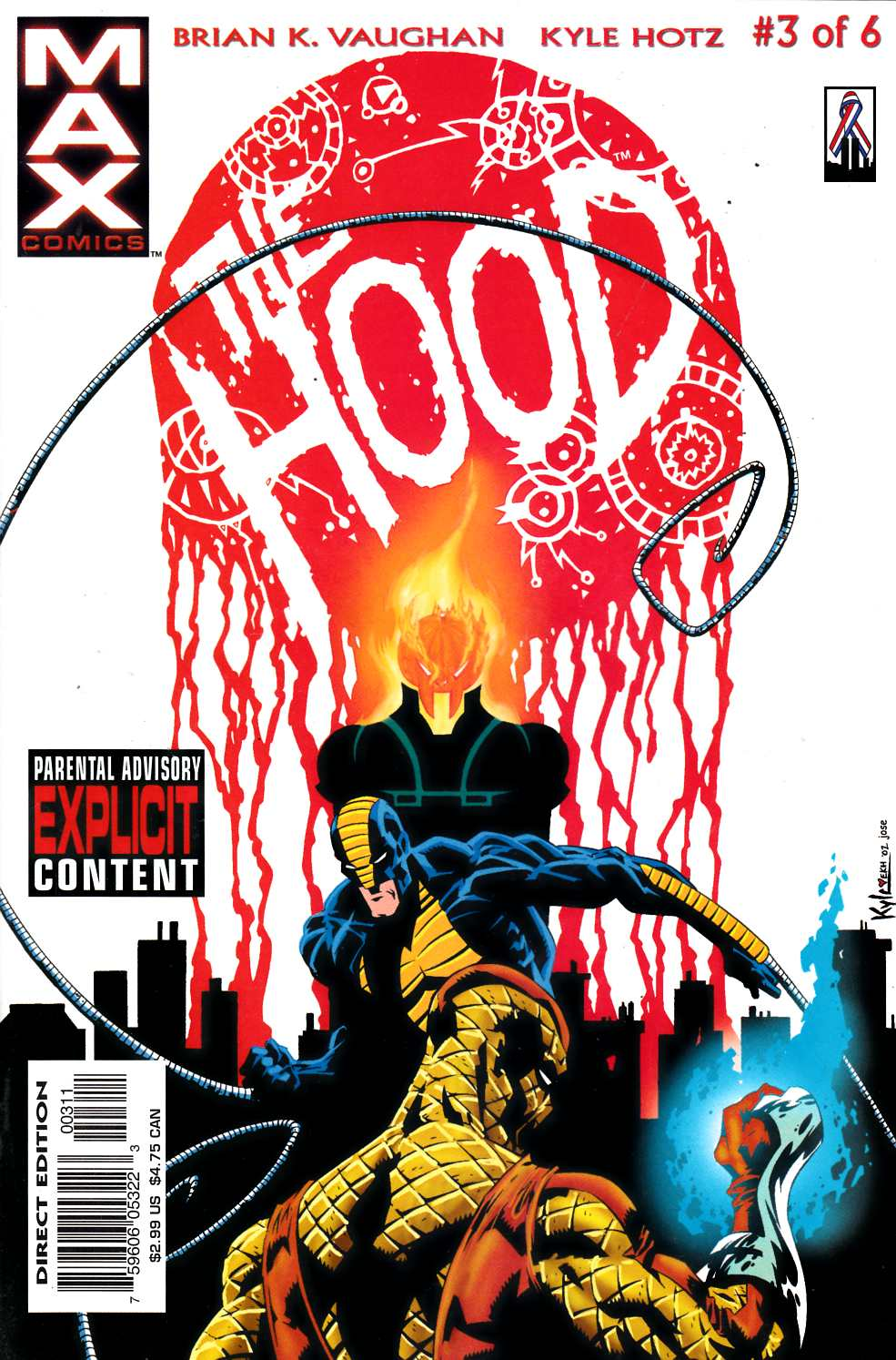 The Hood #3 Very Fine (8.0) [Marvel Comic] THUMBNAIL