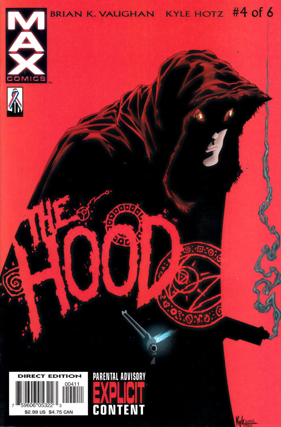 The Hood #4 Near Mint Minus (9.2) [Marvel Comic] THUMBNAIL