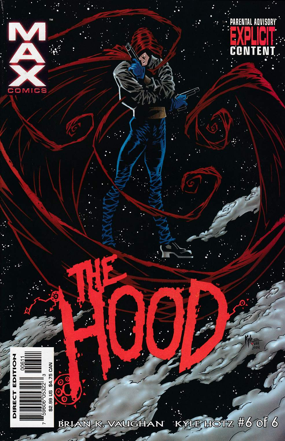 The Hood #6 Near Mint Minus (9.2) [Marvel Comic] THUMBNAIL