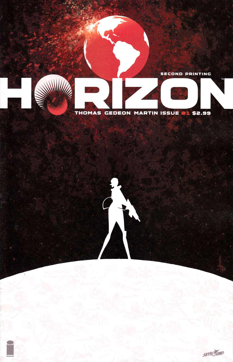 Horizon #1 Second Printing [Image Comic]