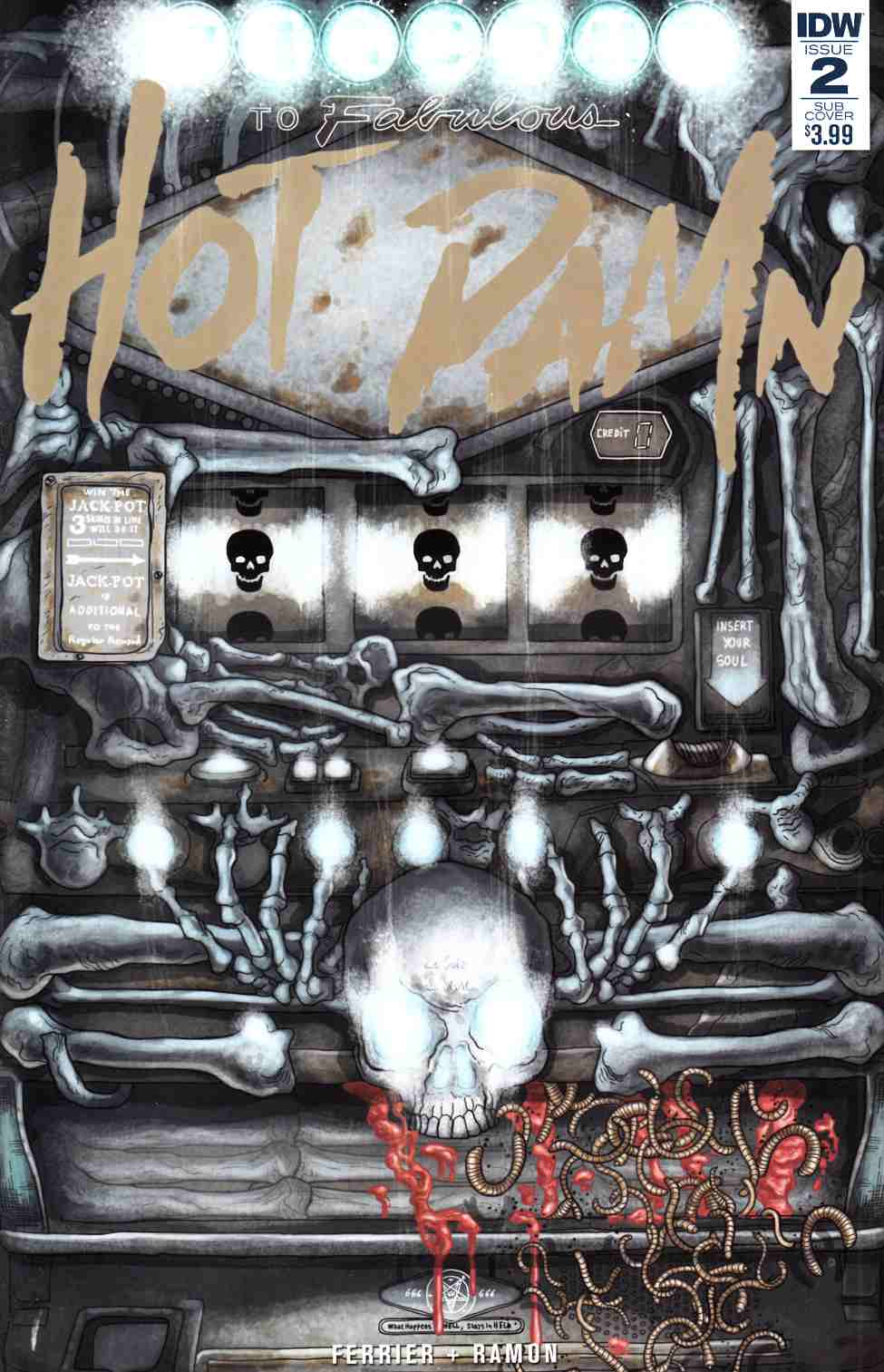 Hot Damn #2 Subscription Cover [IDW Comic]