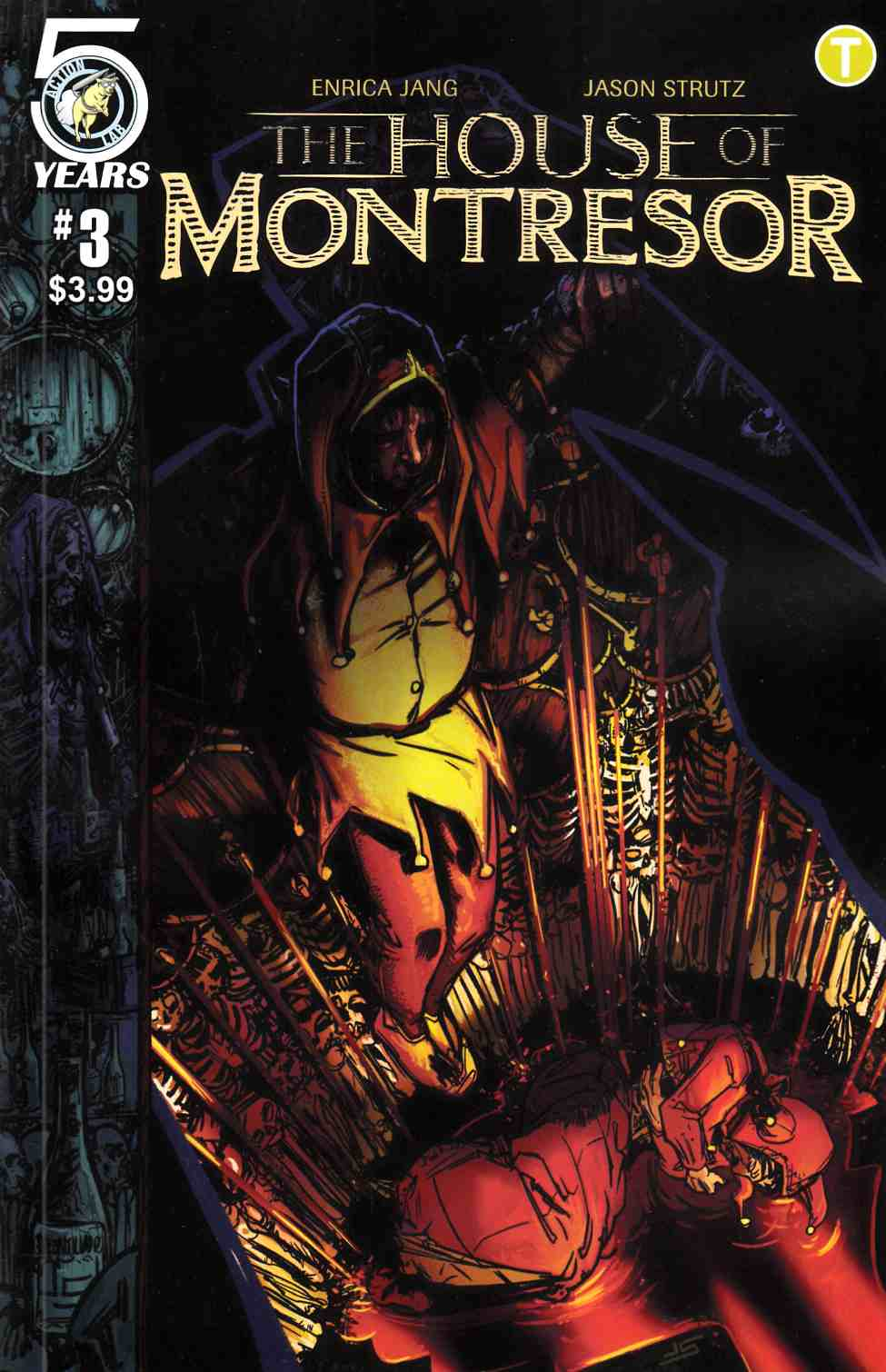 House of Montresor #3 [Action Lab Comic] THUMBNAIL