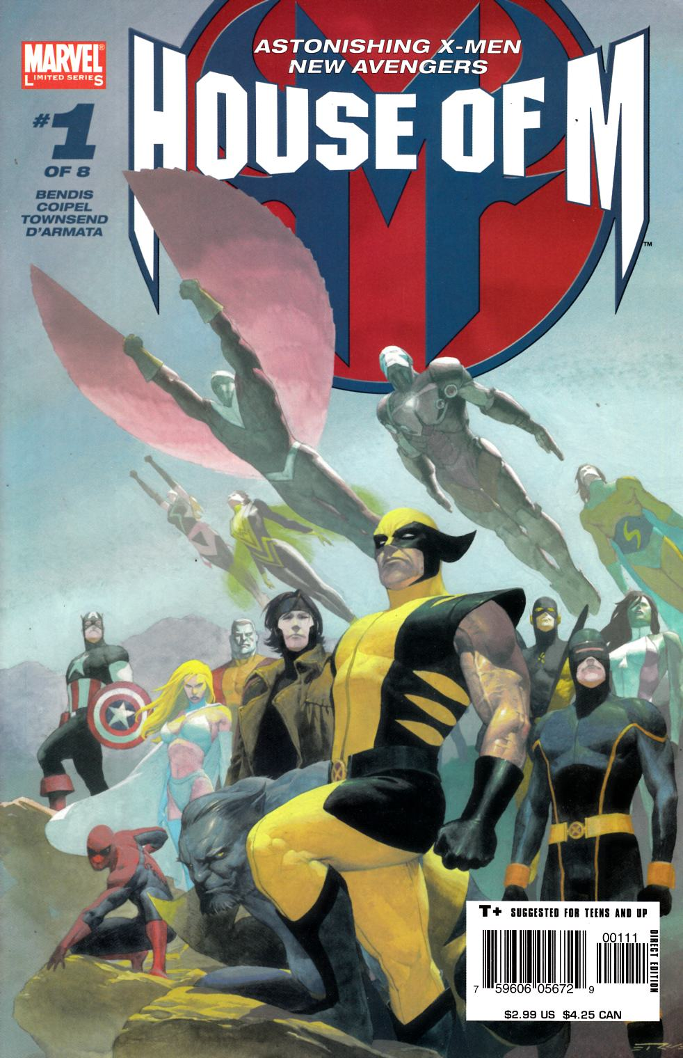 House of M #1 Near Mint (9.4) [Marvel Comic]_THUMBNAIL