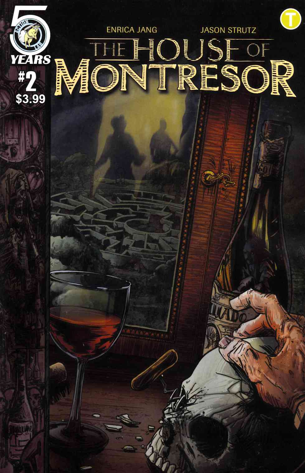 House of Montresor #2 [Action Lab Comic] THUMBNAIL
