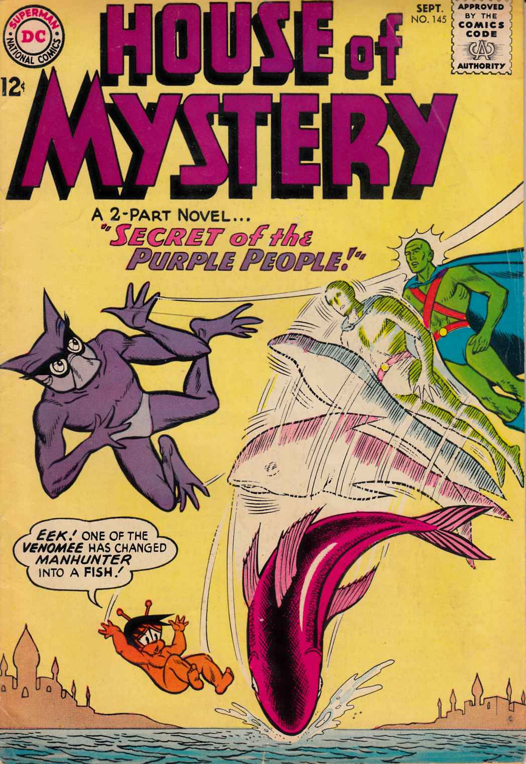 House of Mystery #145 [DC Comic] LARGE