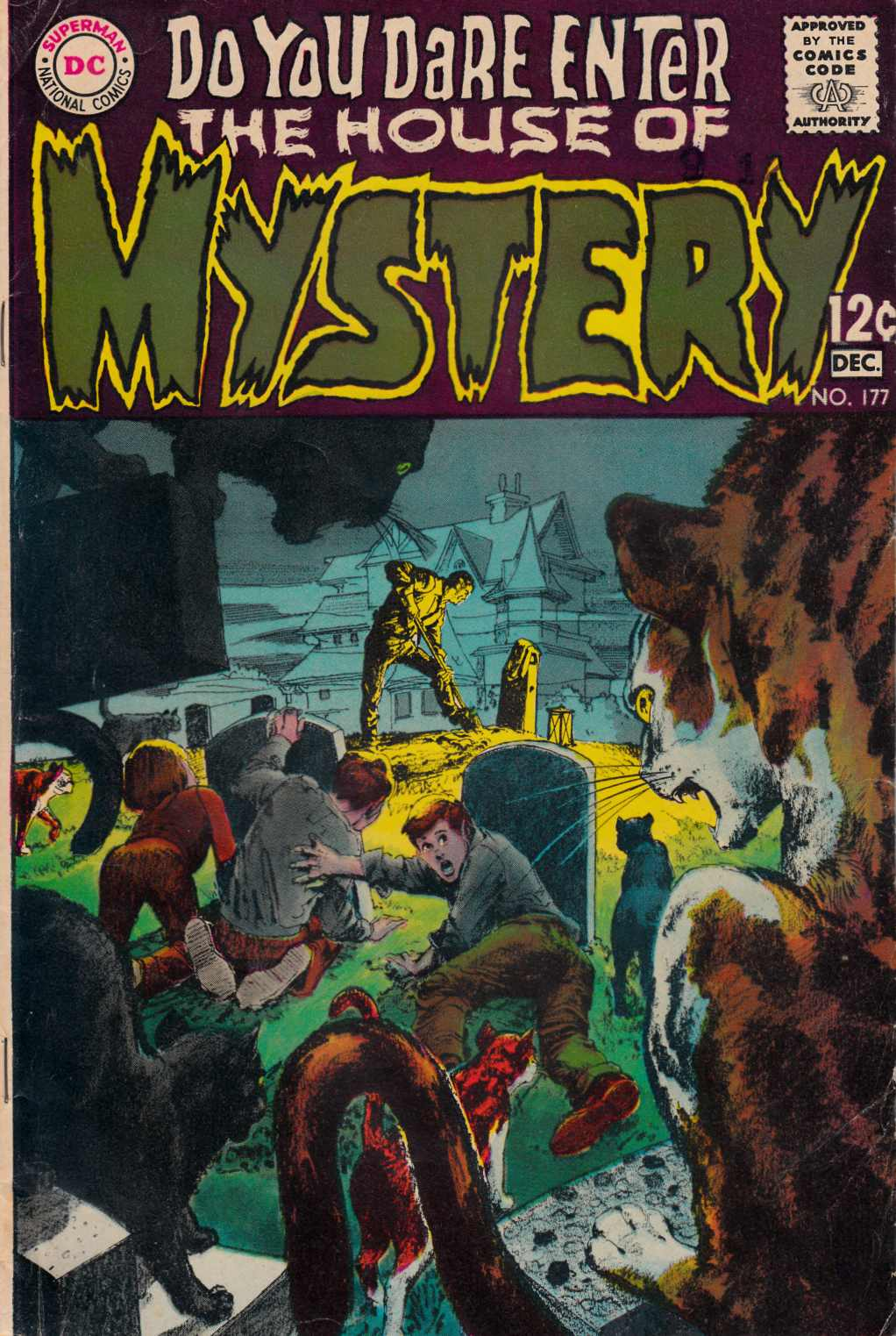 House of Mystery #177 [DC Comic] THUMBNAIL