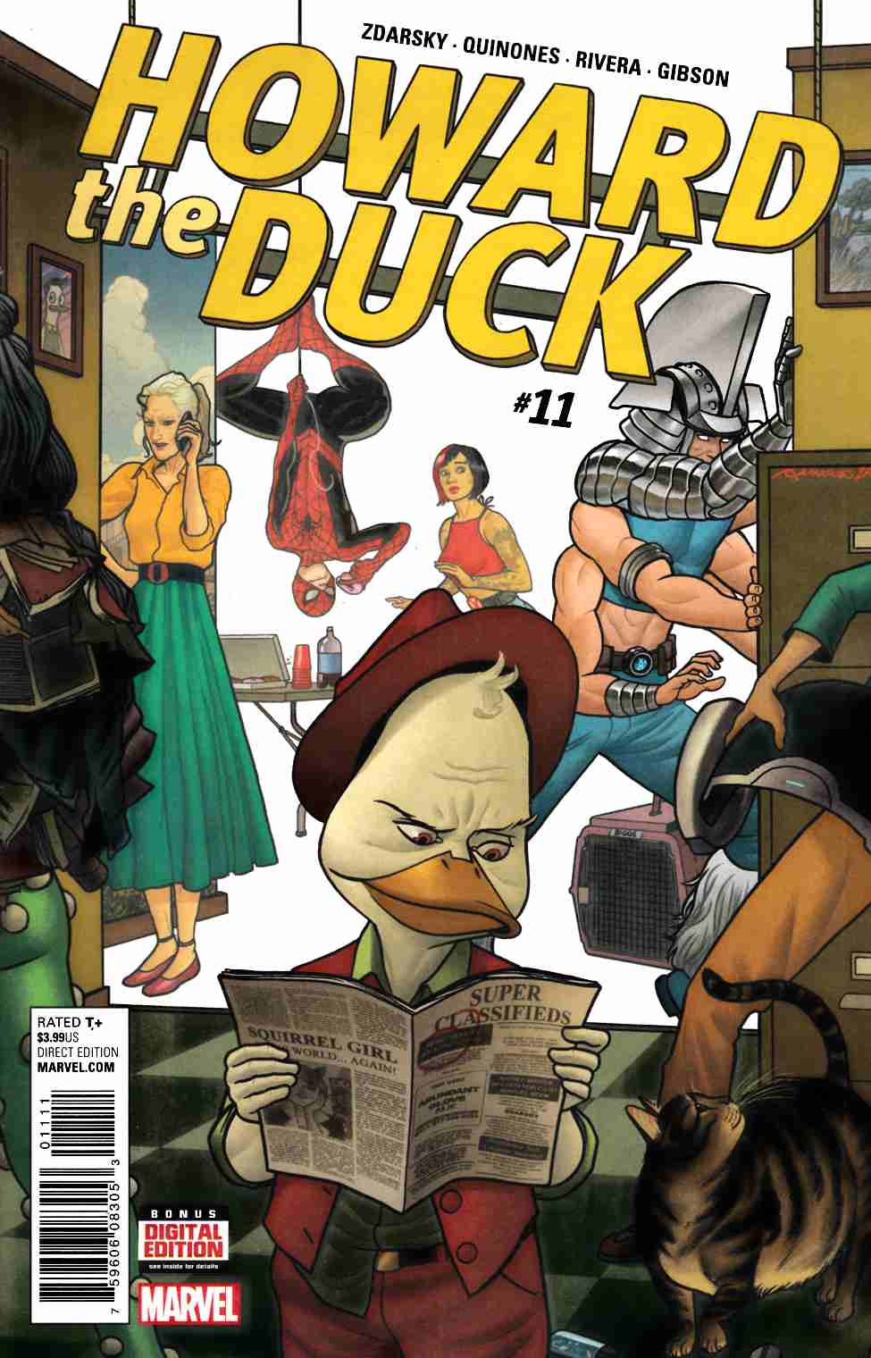 Howard the Duck #11 [Marvel Comic] LARGE