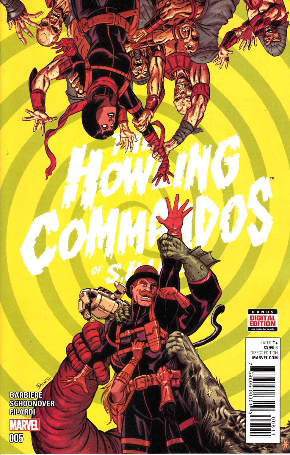 Howling Commandos of Shield #5 [Marvel Comic] LARGE