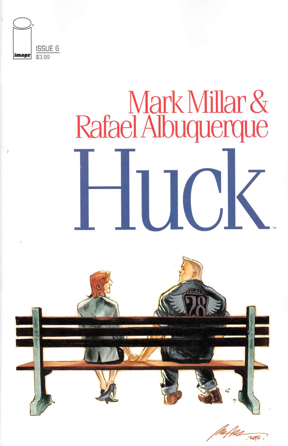 Huck #6 Cover B [Image Comic]