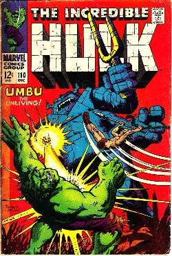 Incredible Hulk #110 [Marvel Comic] LARGE
