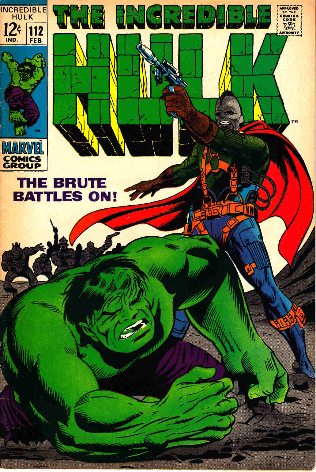 Incredible Hulk #112 Fine/Very Fine (7.0) [Marvel Comic] THUMBNAIL