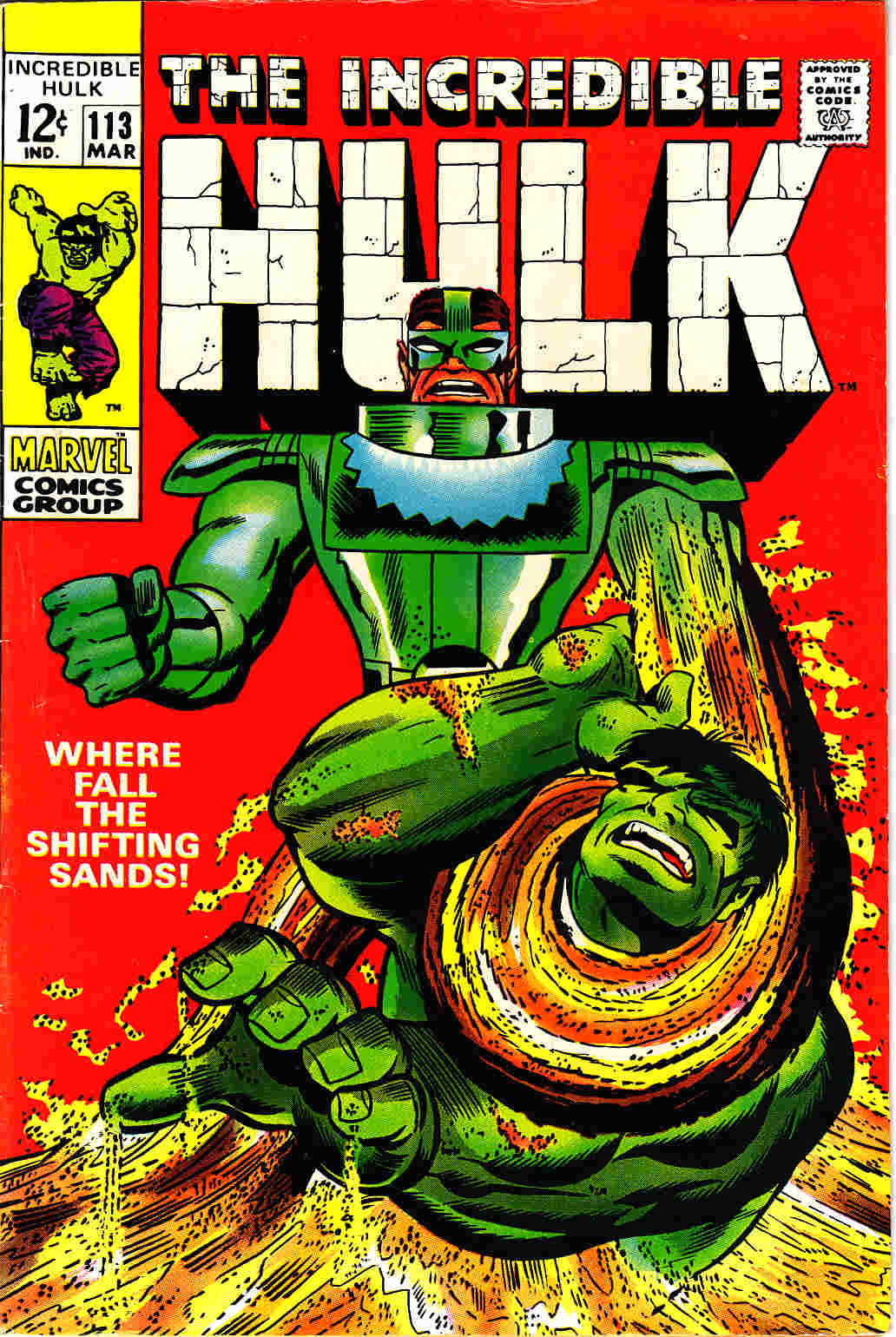 Incredible Hulk #113 Fine (6.0) [Marvel Comic] THUMBNAIL