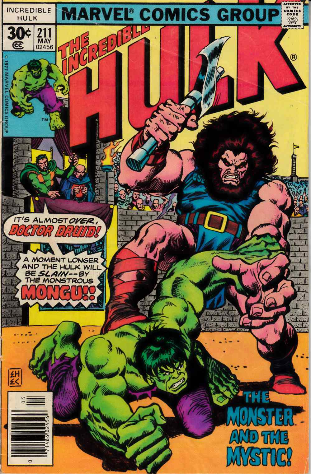 Incredible Hulk #211 Good/Very Good (3.0) [Marvel Comic] THUMBNAIL