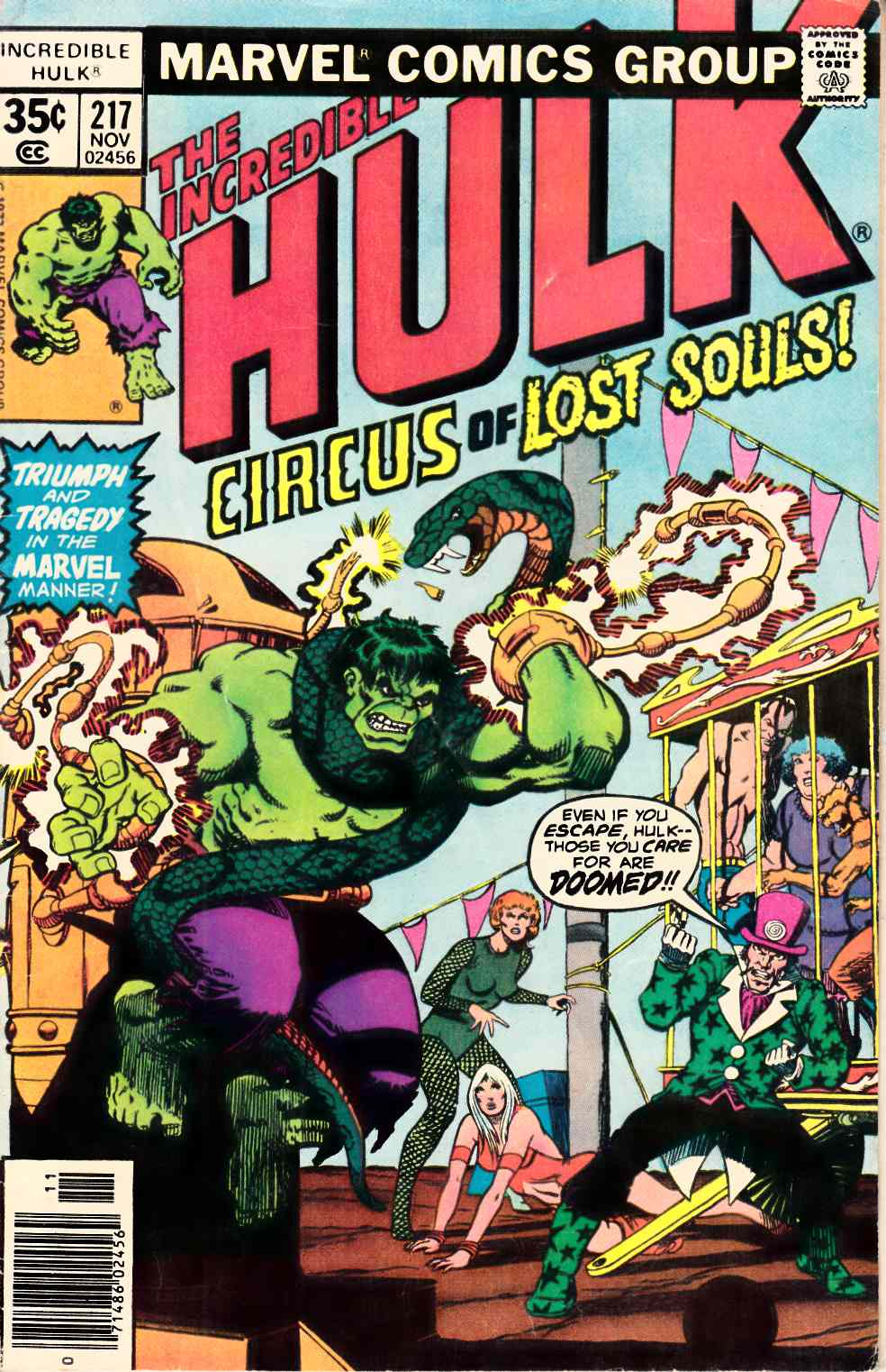 Incredible Hulk #217 Very Good (4.0) [Marvel Comic] THUMBNAIL