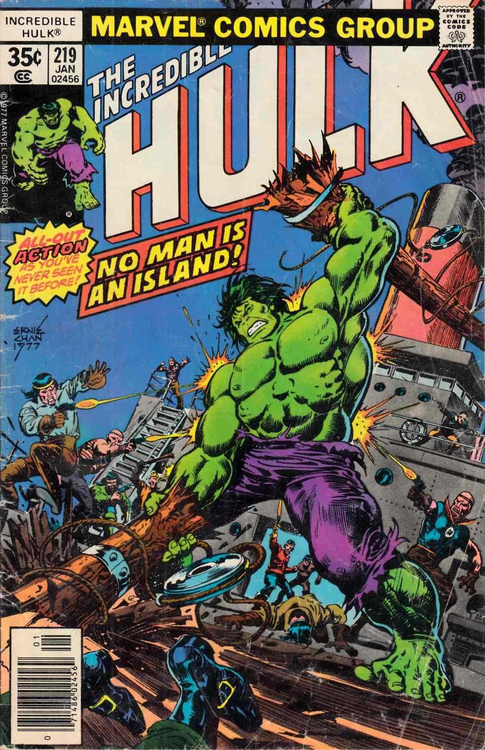 Incredible Hulk #219 Good Plus (2.5) [Marvel Comic] THUMBNAIL