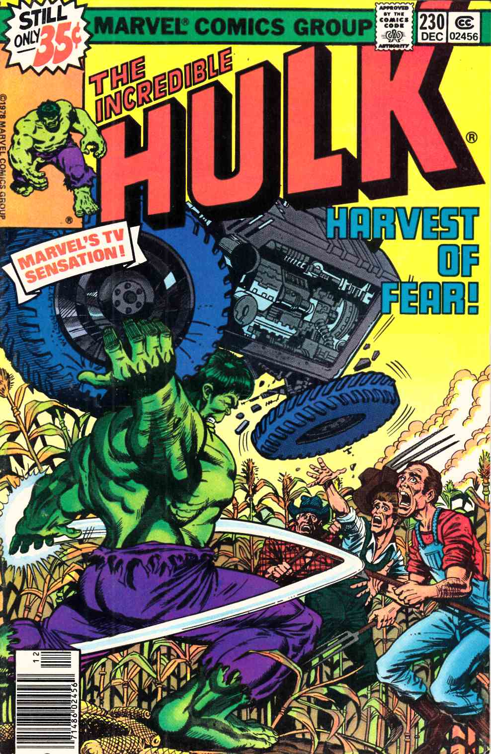 Incredible Hulk #230 Very Fine (8.0) [Marvel Comic] THUMBNAIL