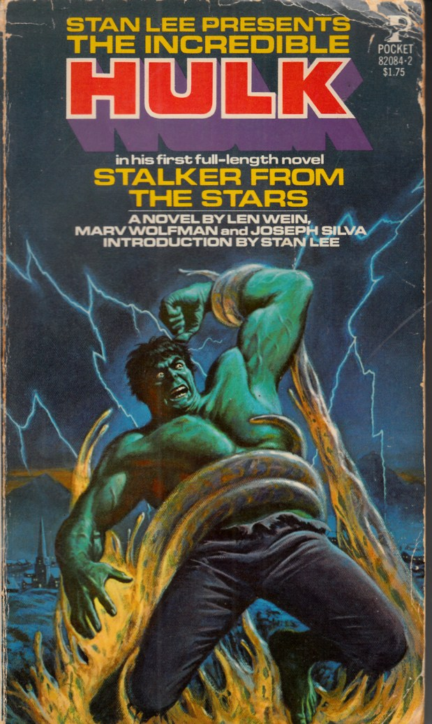 Incredible Hulk Stalker From the Stars Novel PB Very Good Minus (3.5) [Marvel Softcover] THUMBNAIL