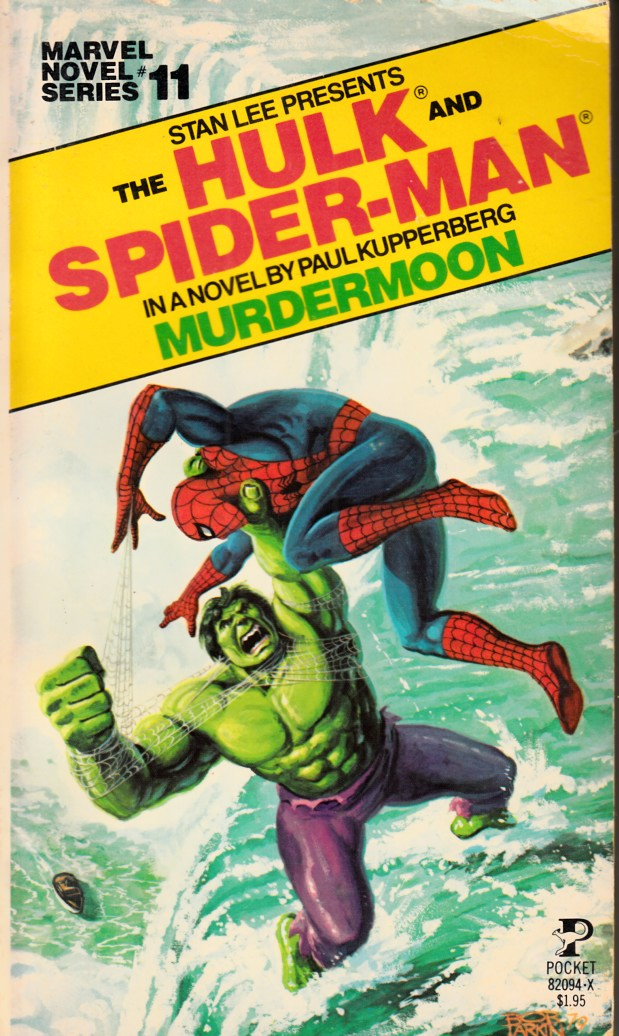 Hulk and Spider-Man Murdermoon Novel PB Fine Minus (5.5) [Marvel Softcover] THUMBNAIL
