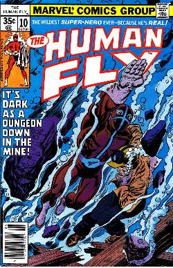 Human Fly #10 [Marvel Comic] LARGE