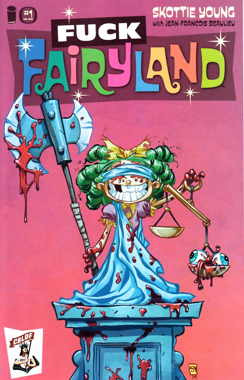 I Hate Fairyland #1 F*ck Fairyland CBLDF Exclusive Cover [Image Comic] THUMBNAIL