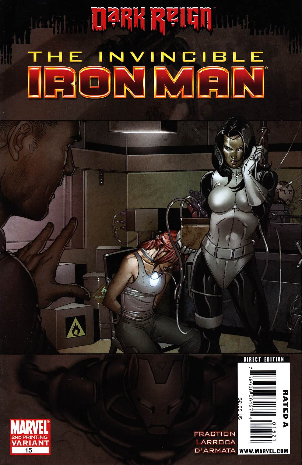 Invincible Iron Man #15 Second Printing [Marvel Comic]