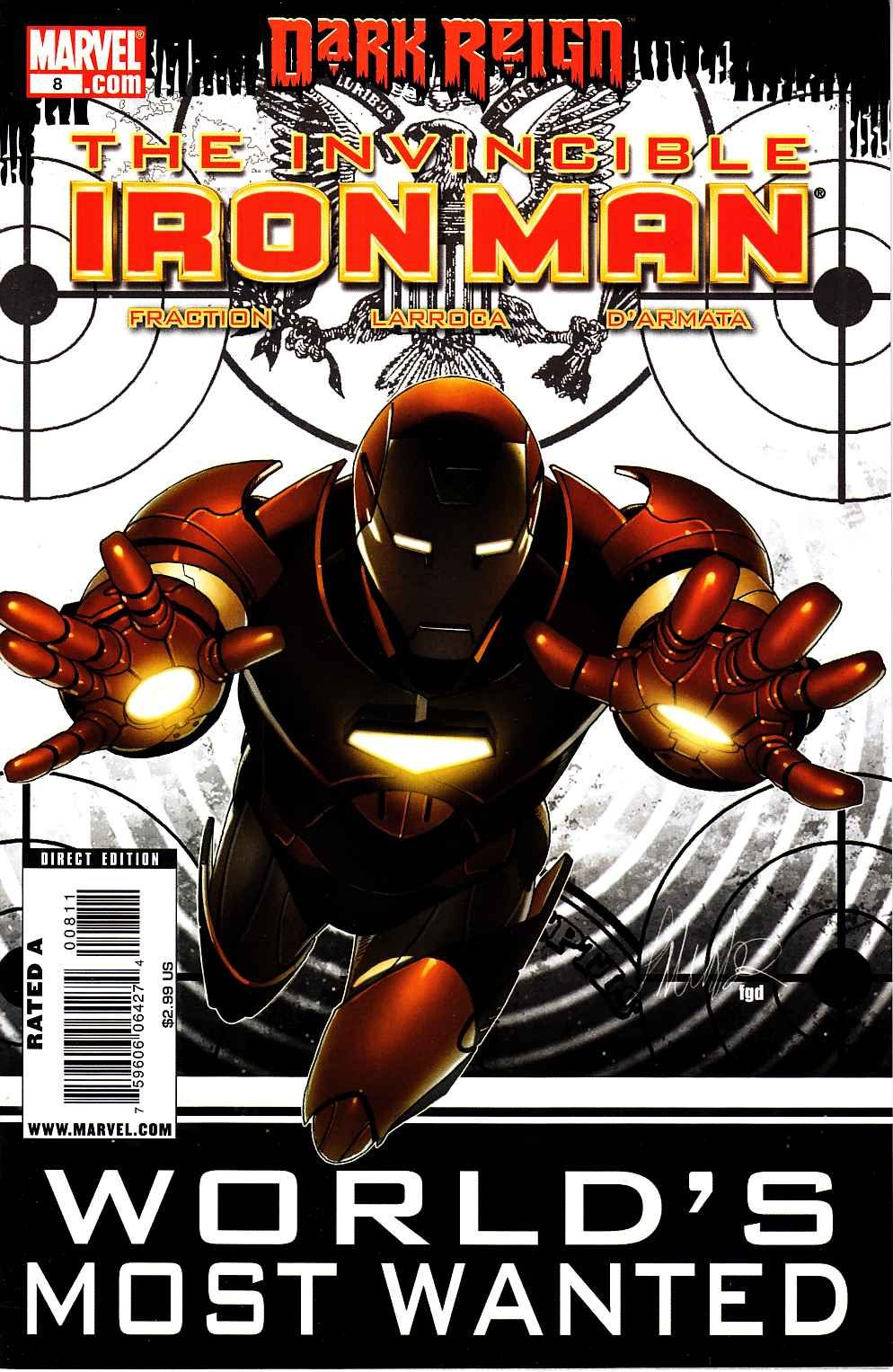 Invincible Iron Man #8 [Marvel Comic] LARGE