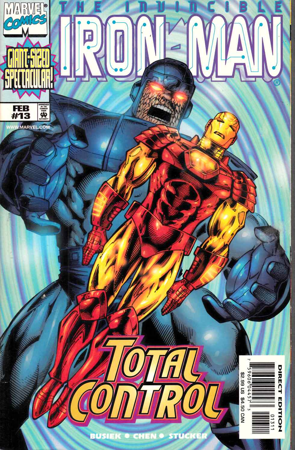 Iron Man #13 Near Mint (9.4) [Marvel Comic] THUMBNAIL