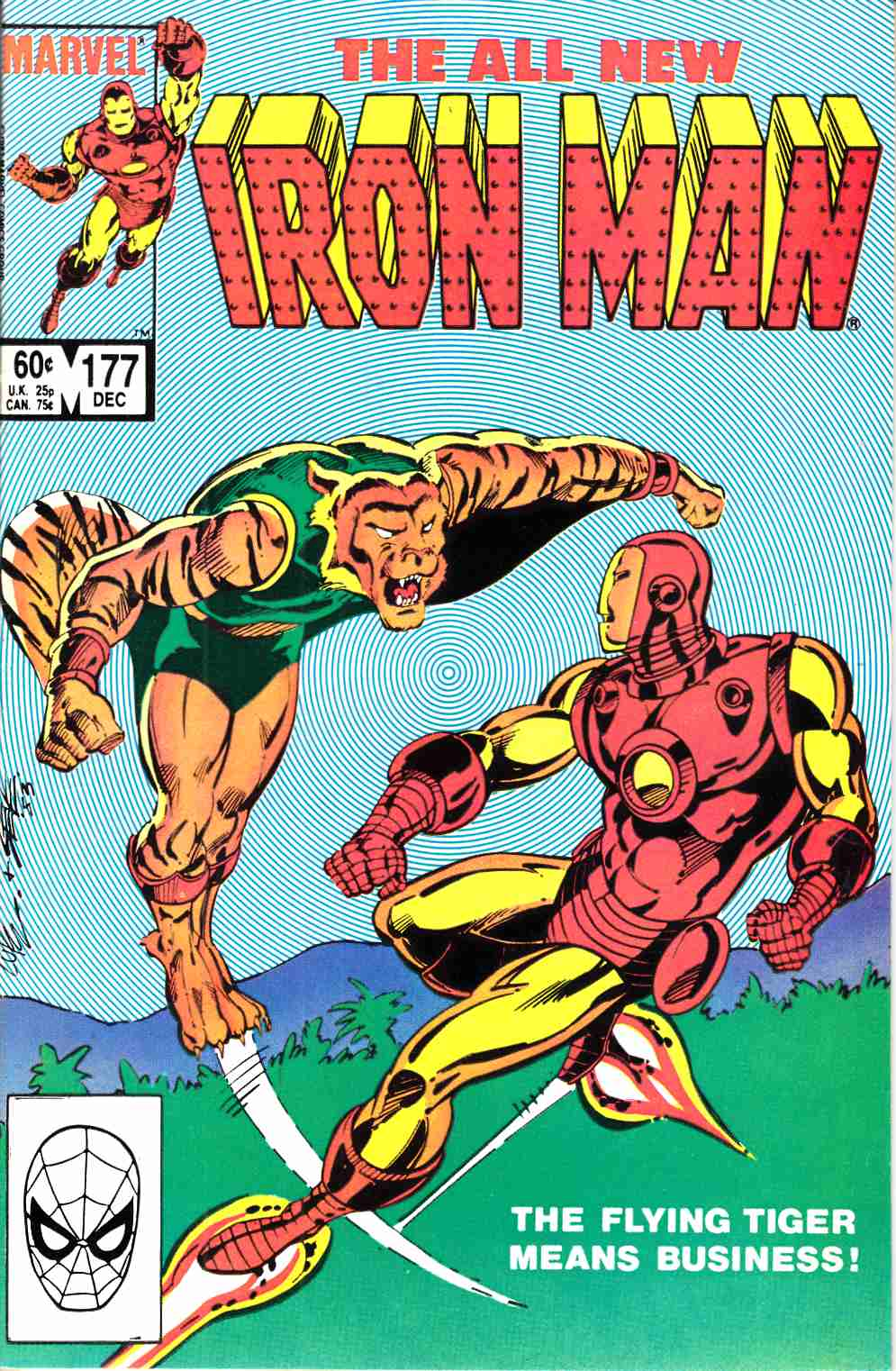Iron Man #177 Very Fine (8.0) [Marvel Comic] LARGE