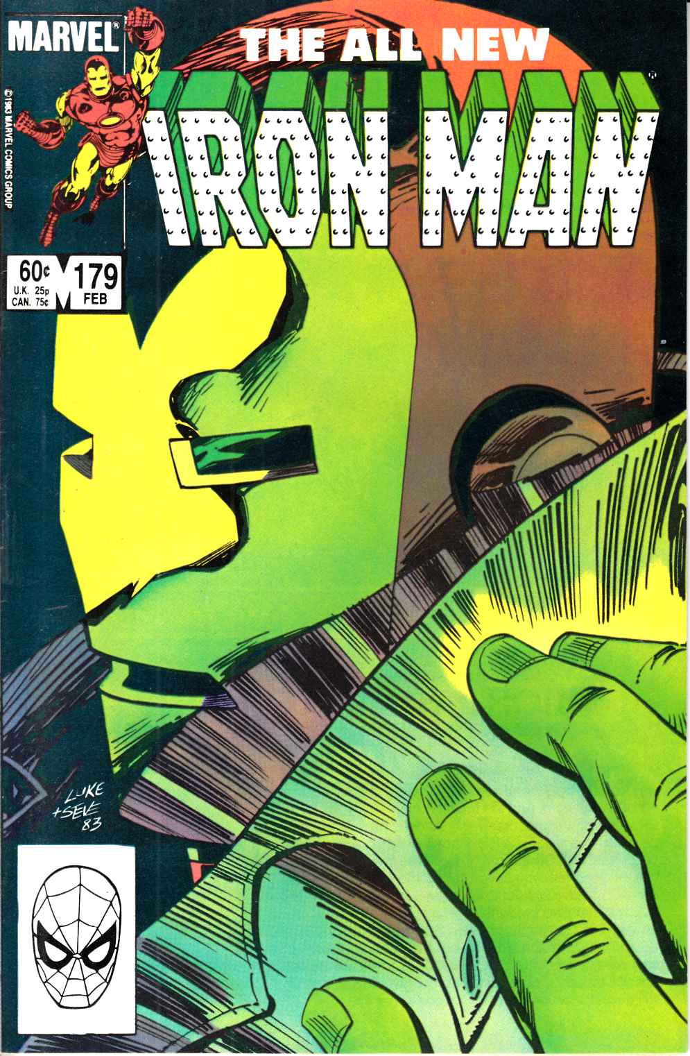 Iron Man #179 Very Fine (8.0) [Marvel Comic] LARGE