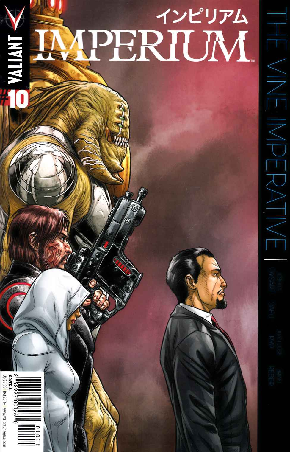 Imperium #10 Cover A- Ryp [Valiant Comic] LARGE