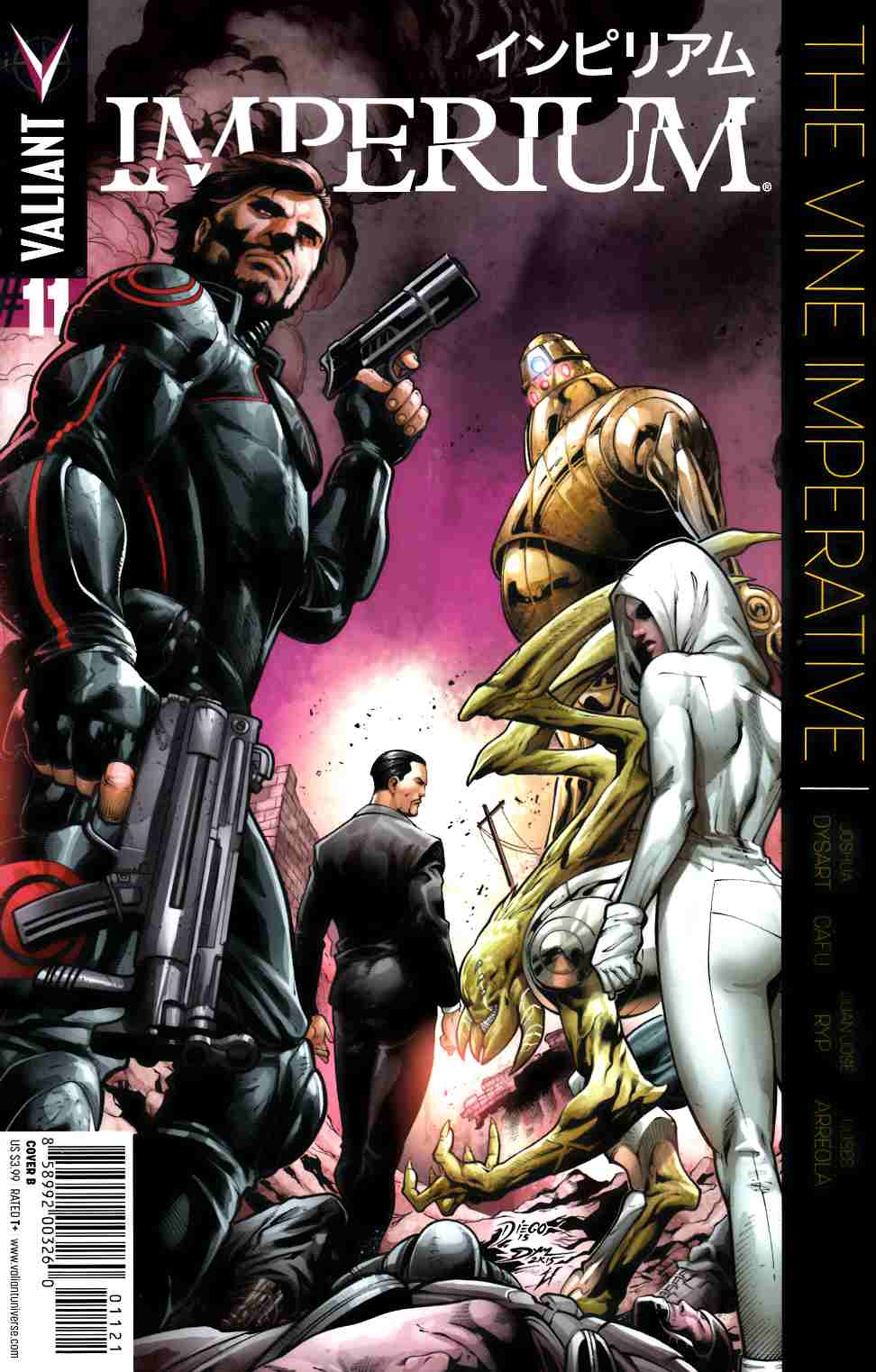 Imperium #11 Cover B- Bernard [Valiant Comic] THUMBNAIL