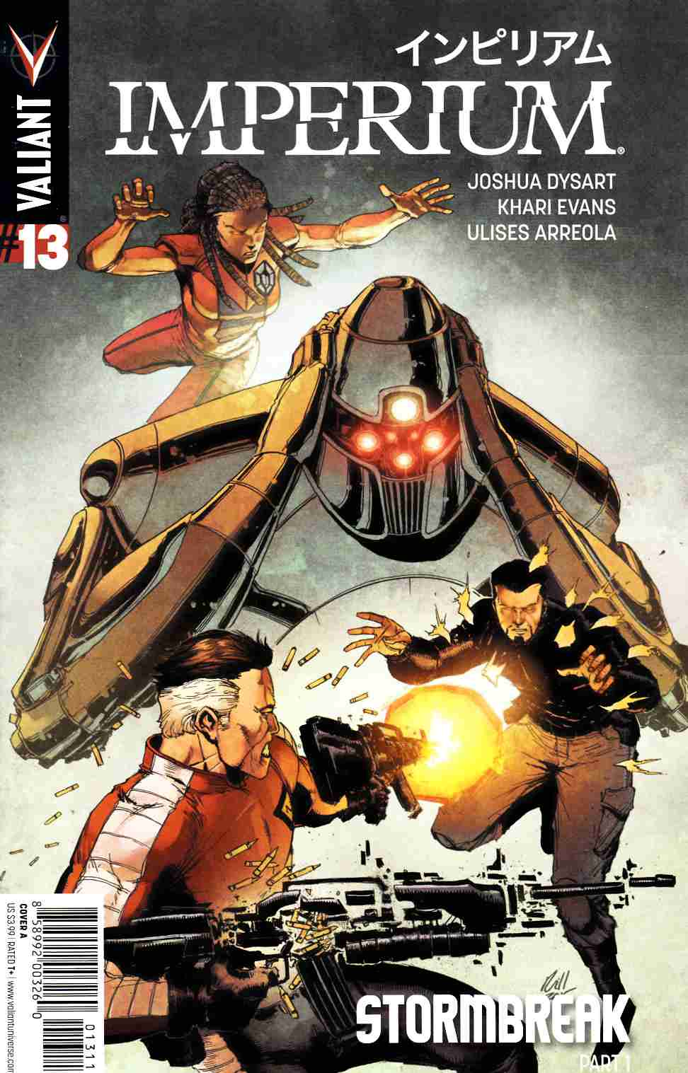 Imperium #13 Cover A- Gill [Valiant Comic] LARGE