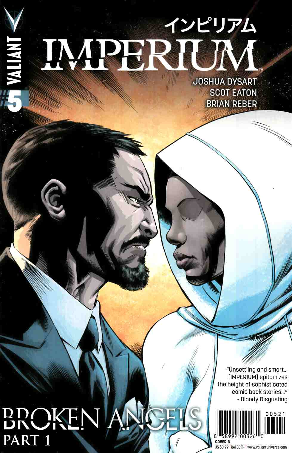 Imperium #5 Cover B- Eaton [Valiant Comic] THUMBNAIL
