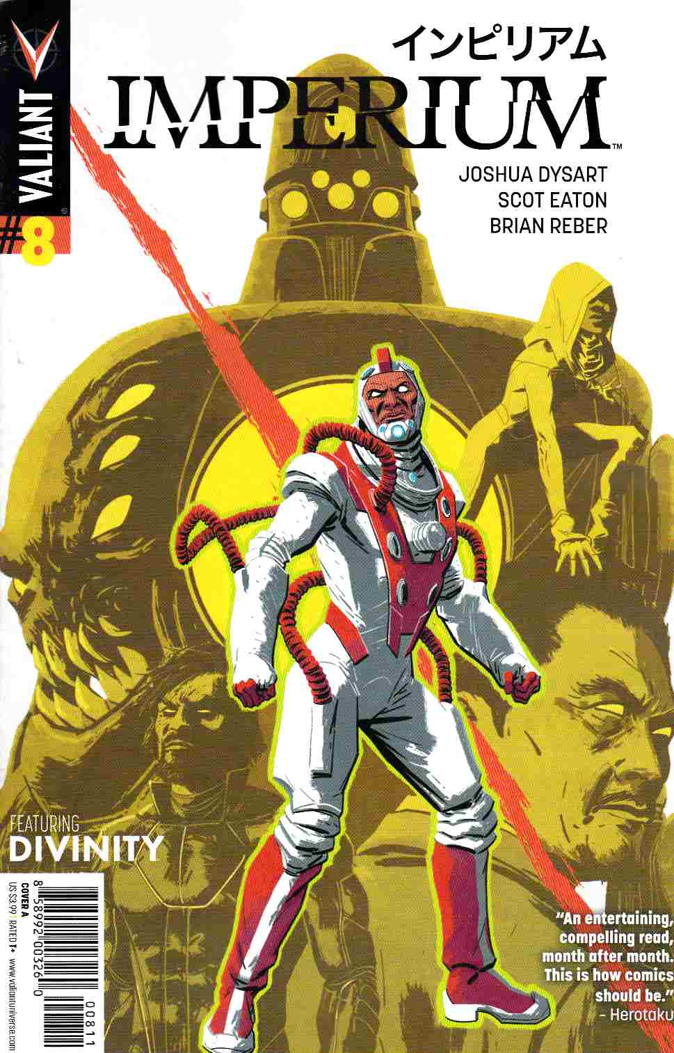 Imperium #8 Cover A- Kano [Valiant Comic] THUMBNAIL