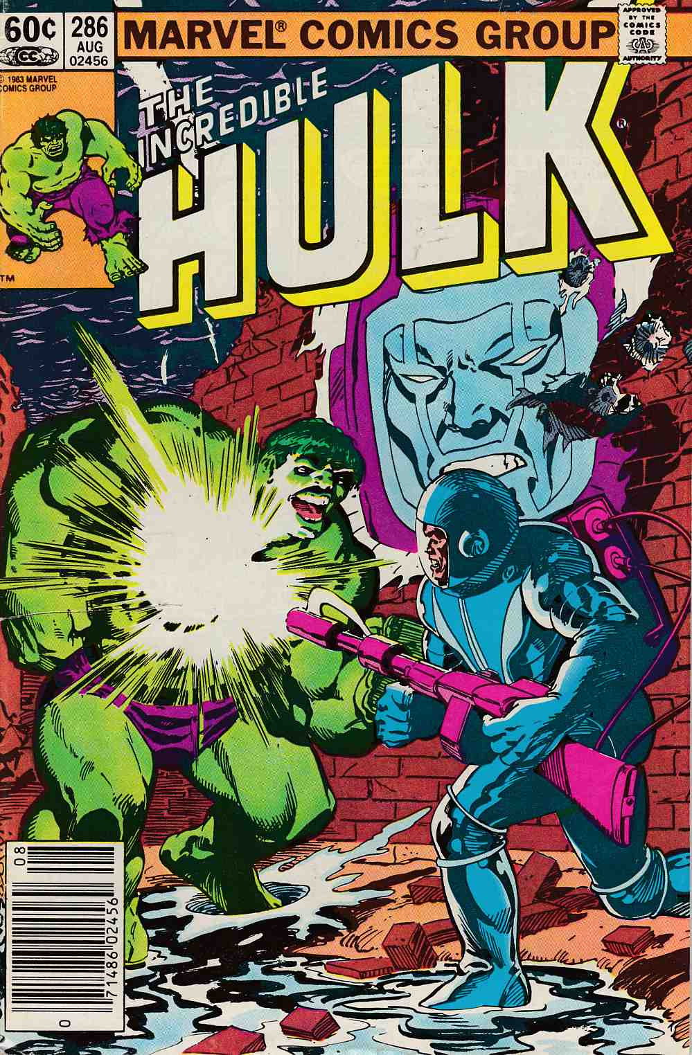 Incredible Hulk #286 Newsstand Edition Fine (6.0) [Marvel Comic] LARGE