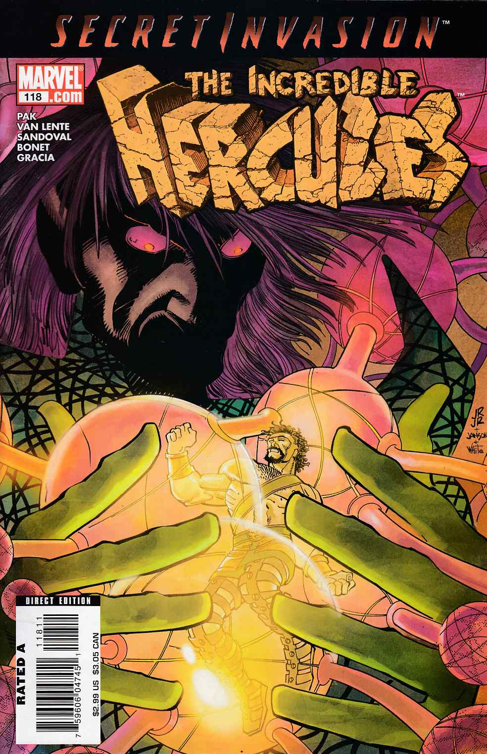 Incredible Hercules #118 Fine (6.0) [Marvel Comic] THUMBNAIL