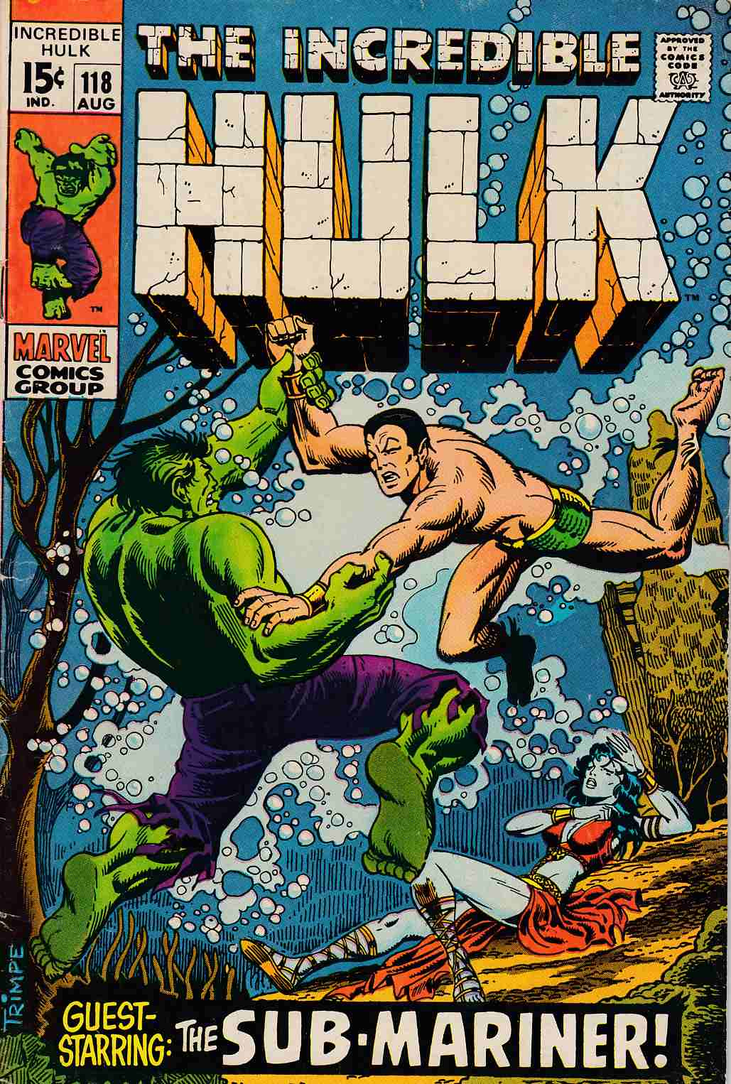 Incredible Hulk #118 Very Good (4.0) [Marvel Comic] THUMBNAIL
