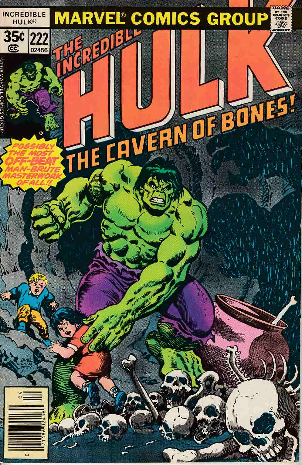 Incredible Hulk #222 Very Fine Minus (7.5) [Marvel Comic] LARGE