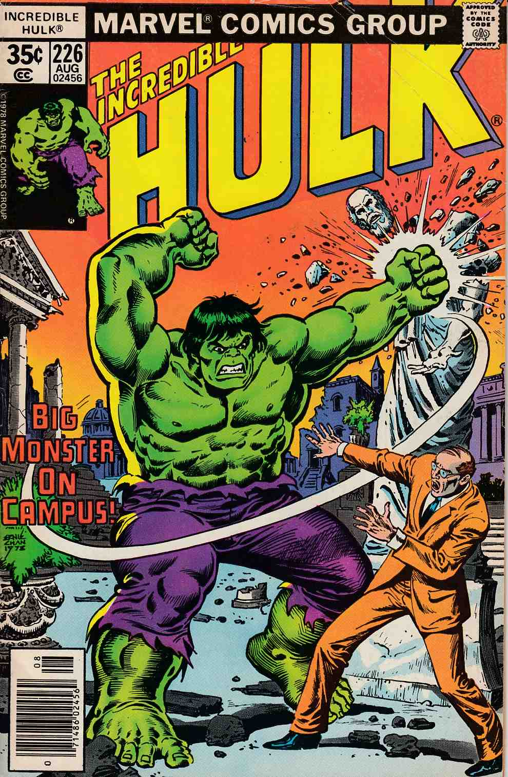 Incredible Hulk #226 Fine Minus (5.5) [Marvel Comic] THUMBNAIL