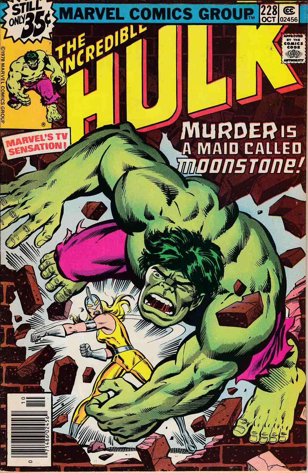 Incredible Hulk #228 Fine Minus (5.5) [Marvel Comic] THUMBNAIL