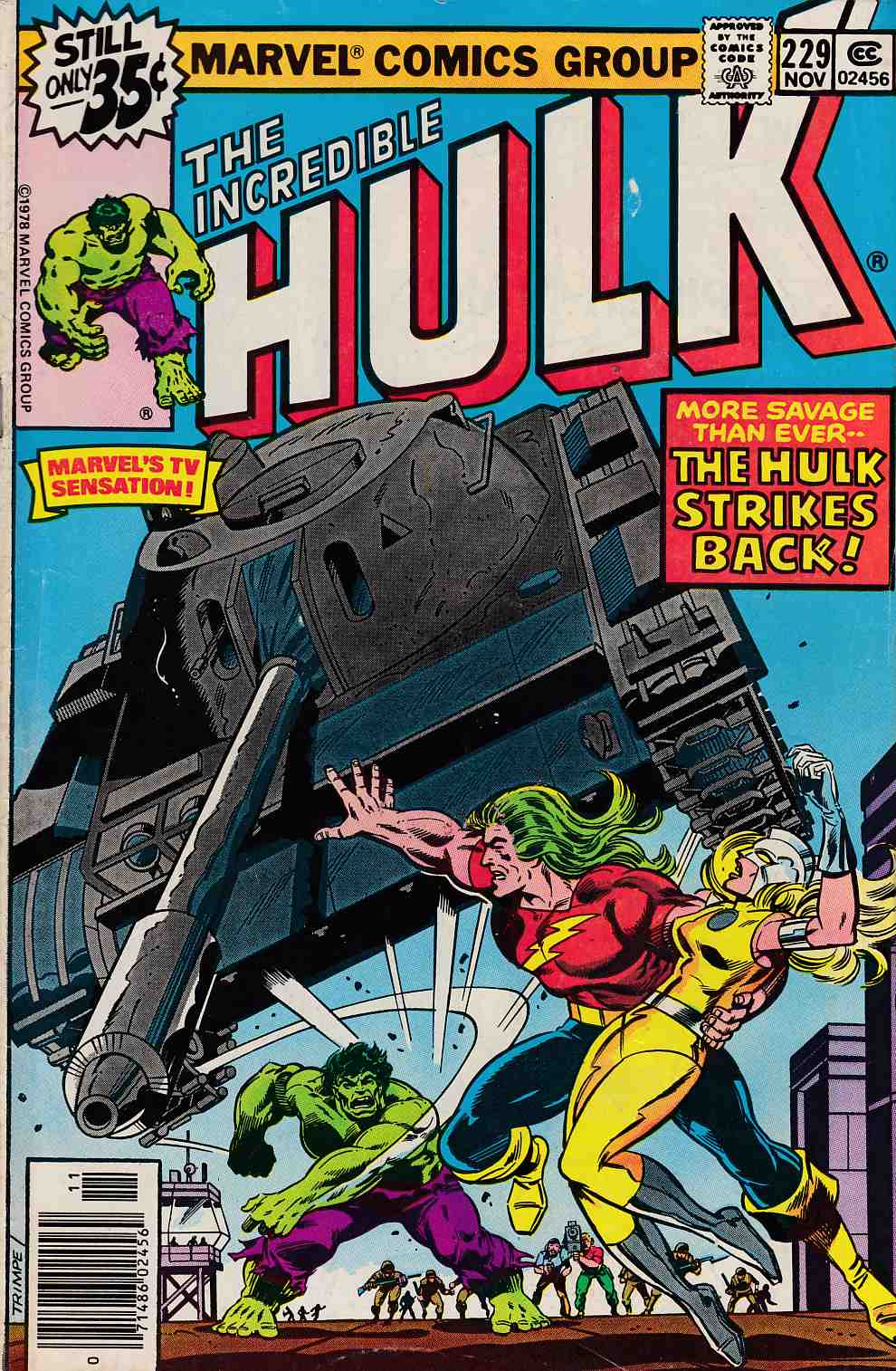 Incredible Hulk #229 Very Good (4.0) [Marvel Comic] THUMBNAIL