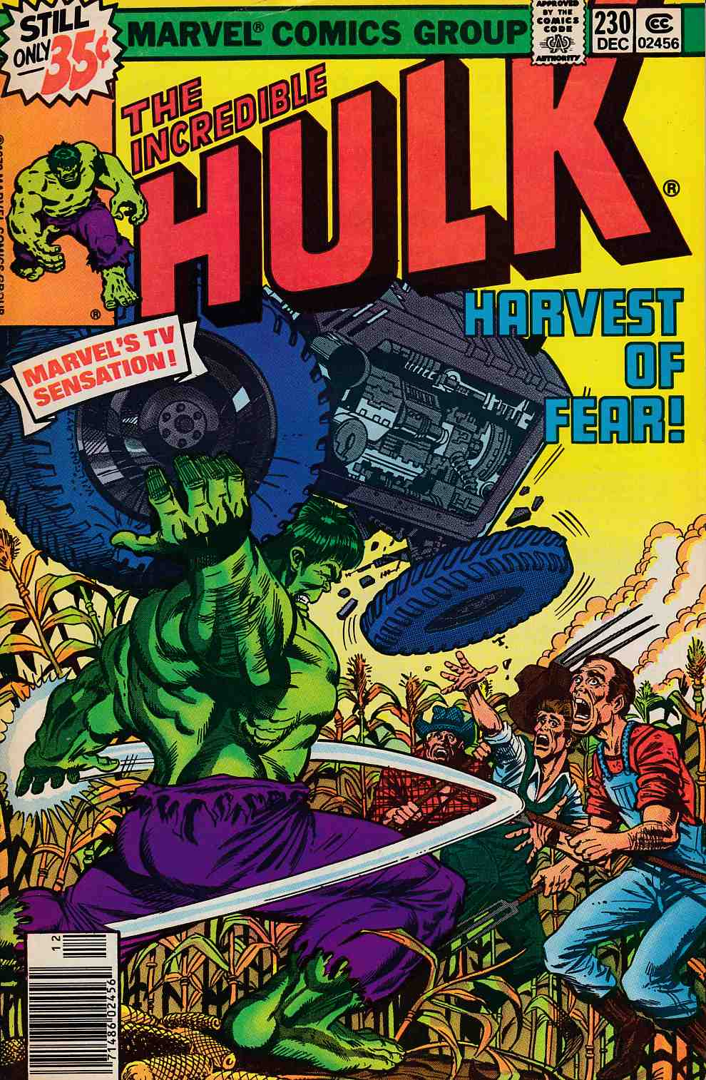 Incredible Hulk #230 Fine (6.0) [Marvel Comic] LARGE
